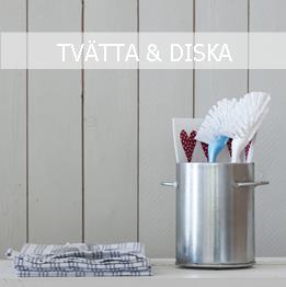 TVÄTTA & DISKA